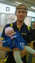 Landsbergs jüngster Fan Lore und Stefan