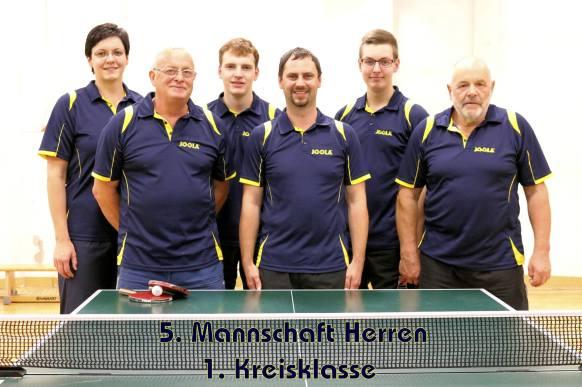 5. Mannschaft 2015-16