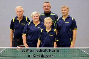8. Mannschaft 2015-16